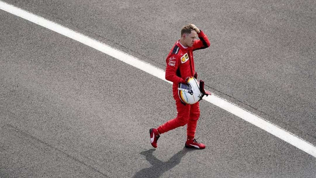Leclerc e Vettel: